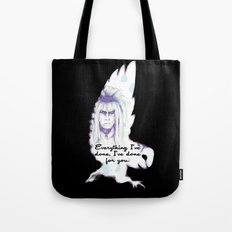 Labyrinth Everything I've Done Owl Tote Bag