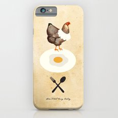 Don't Eat My Baby. Slim Case iPhone 6s