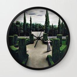 Classical Masterpiece 'Florentine Garden' by Pyke Koch Wall Clock