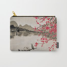 Japan Crane Fishing Carry-All Pouch