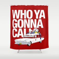 Ghostbusters Shower Curtain