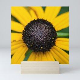 flower center Mini Art Print