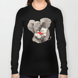Baby Boo with Teddy Long Sleeve T-shirt