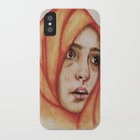fallout iPhone & iPod Cases featuring The Fallout by Courtney James