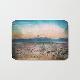 Desert Mountain Adventure - Nature Photography Bath Mat