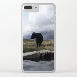 The visitor Clear iPhone Case