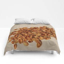 Pistachios after party Comforters