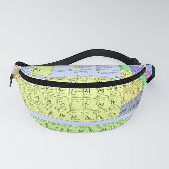The Periodic Table Blue Background by lostuniverse