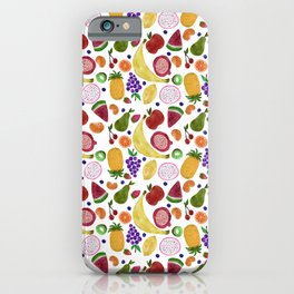 Whoever Heard of Snozberry Fruit Pattern iPhone Case