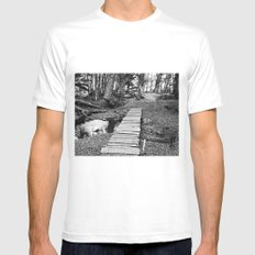 The path of my life. Mens Fitted Tee White MEDIUM