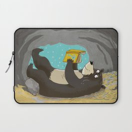 reading cave Laptop Sleeve