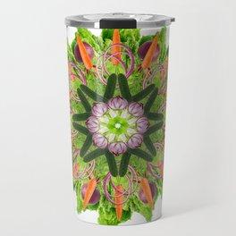veggies mandala Travel Mug