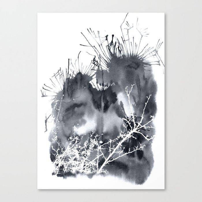 grey sky Canvas Print