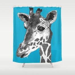 Geoff the Giraffe Shower Curtain