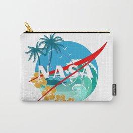 beach nasa logo Carry-All Pouch