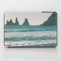 iceland iPad Cases featuring Vík, Iceland by Chelle Wootten