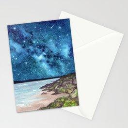 Seashore Milky Way Stationery Cards