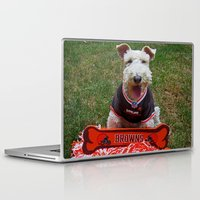 cleveland Laptop & iPad Skins featuring Cleveland Fan by Photography by Michiale