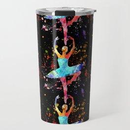 Ballerina Blacky Black Travel Mug