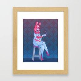Smokin n Waitin Framed Art Print