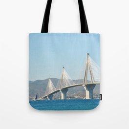 Rio Antirrio Bridge Tote Bag
