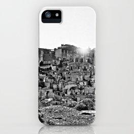 Sassi di Matera: view iPhone Case