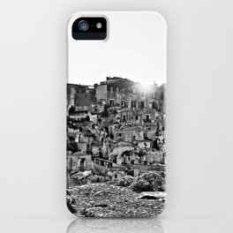 Sassi di Matera: view iPhone Case