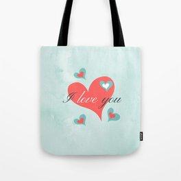 Saint Valentine's Day (I love you) Tote Bag