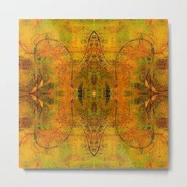 Abstract Acrylic Print 2 Metal Print