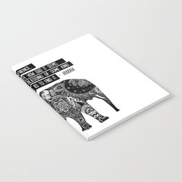 Blessing Buddha Quote Notebook