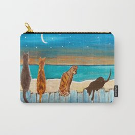 Cats on a Fence Carry-All Pouch