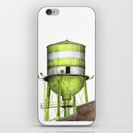 Montreal's Water Tower (Lachine Canal) iPhone Skin