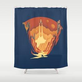 New World Shower Curtain