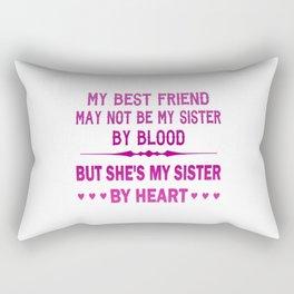 I LOVE MY BEST FRIEND - MY SISTER Rectangular Pillow