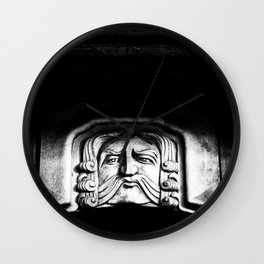 Disapproving Scowl Wall Clock