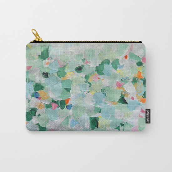 Tropical Dance (rectangle) Carry-All Pouch