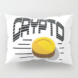 CRYPTO COIN Pillow Sham