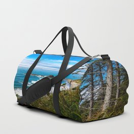 Pacific View - Coastal Scenery in Washington State Duffle Bag