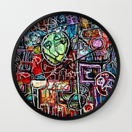 Grounded Flight Wall Clock
