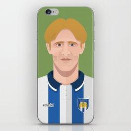 Tony Adcock iPhone Skin
