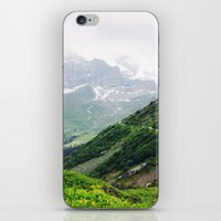 switzerland iPhone & iPod Skins featuring Switzerland by Tana Helene