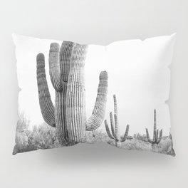 Desert Cactus BW Pillow Sham