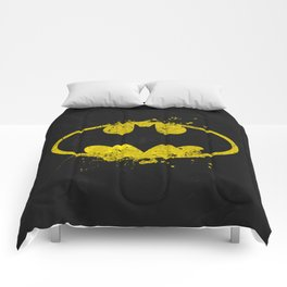 Bat man's Splash Comforters