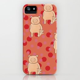 Year of the Pig iPhone Case