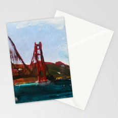 Golden Gate Bridge  Stationery Cards