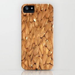 Peeled Almonds From Datca iPhone Case