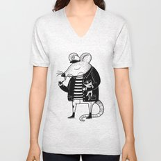 Rat Ship Unisex V-Neck