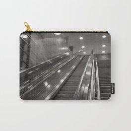 Underground station - stairs - Brandenburg Gate - Berlin Carry-All Pouch