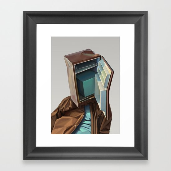 you say what Framed Art Print