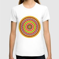 batik T-shirts featuring Batik Bullseye by Peter Gross